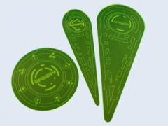 Micro Art Studios: Infinity Templates (3) Green)