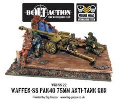 German - Waffen SS Pak 40