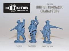 British: Commando Characters (Lord Lovat, Piper Millin & Brigadier Young)