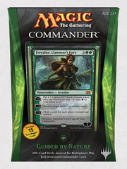 Commander 2014 Deck - Guided by Nature (Green)