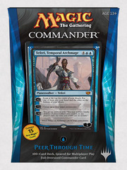Commander 2014 Deck - Peer Through Time (Blue)