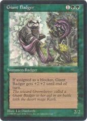Giant Badger - Book Promo