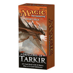 Dragons of Tarkir Event Decks