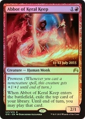 Abbot of Keral Keep - Foil - Prerelease Promo