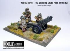 USA - Airborne 75mm Pak Howitzer & Crew