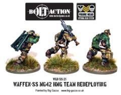 German - Waffen SS HMG42 Team