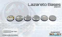 Antenocitis Workshop Limited:  Lazareto Bases: 25mm