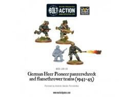 German Army Flamethrower & Panzerschreck (4)