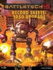 Record Sheet 3050 Upgrade