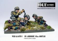 USA - Airborne 60mm Mortar & Crew