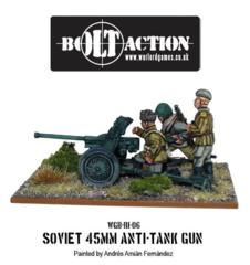 Soviet - 45mm Anti Tank Gun