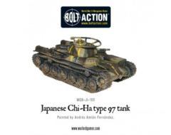 Japanese: Japanese Type 97 Chi-Ha Tank