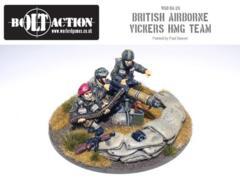 British - Paratrooper Vickers HMG & Crew