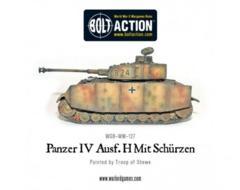 German: Panzer IV AUF H Mit Schurzen