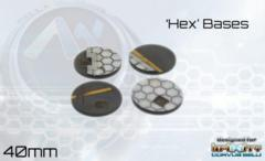 Antenocitis Workshop Limited: Hex Base Set: 40mm