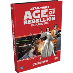 Star Wars RPG: Age of Rebellion Core Rulebook Hardcover