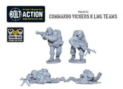 British: Commando Vickers K LMG Teams