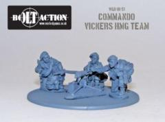 British: Commando Vickers HMG Team