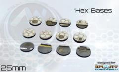 Antenocitis Workshop Limited: Hex Base Set: 25mm