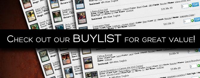 2 - Buylist