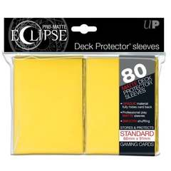 Ultra Pro: Eclipse Matte Yellow Sleeves