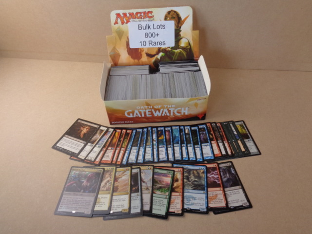 Bulk Box - Over 800 cards Plus 10 Rares