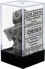 CHX25410 GREY W/ BLACK OPAQUE 7-DIE SET