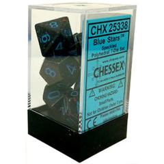 CHX25338 BLUE STARS SPECKLED 7-DIE SET