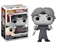 Norman Bates Black and White NYCC Exclusive Pop Vinyl Figure