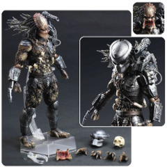 Predator Square Play Arts Kai Figure - 11