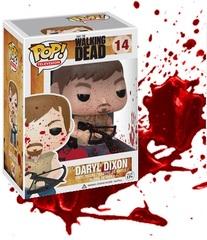 The Walking Dead Bloody Daryl Dixon Hot Topic Exclusive Pop Vinyl 72