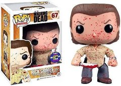 The Walking Dead Rick Grimes Bloody Prison Yard 2013 SDCC Exclusive Pop Vinyl 20