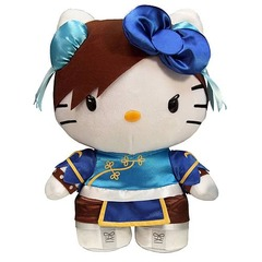 Street Fighter Hello Kitty Chun-Li 11-Inch Plush