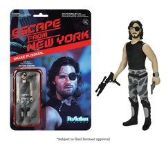 Escape From New York Snake Plissken Funko ReAction Figure