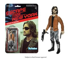 Escape From New York Snake Plissken with Jacket Funko ReAction Figure