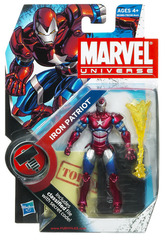 Marvel Universe 3 3/4 Inch Action Figure Iron Patriot