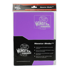Monster Protectors 9-Pocket Binder - Coral Purple