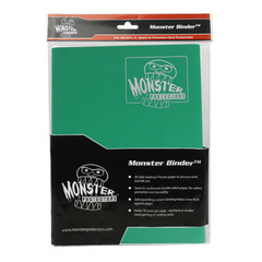 Monster Protectors 9-Pocket Binder - Emerald Green
