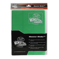 Monster Protectors 9-Pocket Binder - Holofoil Green