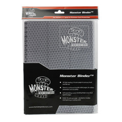 Monster Protectors 9-Pocket Binder - Holofoil Silver