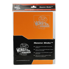 Monster Protectors 9-Pocket Binder - Matte Orange