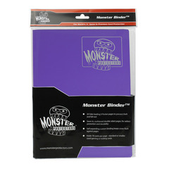 Monster Protectors 9-Pocket Binder - Matte Purple