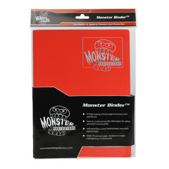 Monster Protectors 9-Pocket Binder - Matte Red