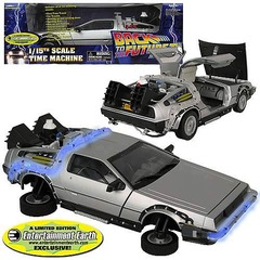 Back to the Future II DeLorean Vehicle 1/15th Scale Time Machine
