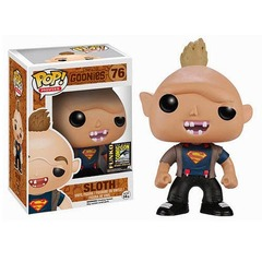 The Goonies Sloth SDCC Exclusive Superman Shirt Variant Pop Vinyl 76
