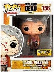 The Walking Dead Hot Topic Exclusive Bloody Carol Peletier Pop Vinyl 156