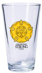 Game of Thrones Dark Horse Pint Glass House Tyrell