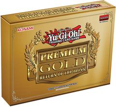 Yu-Gi-Oh! Premium Gold: Return of the Bling Box of 3 Mini-Packs
