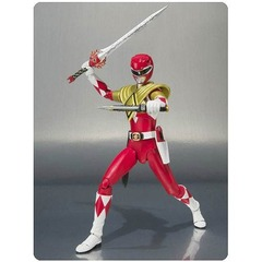 Mighty Morphin Power Rangers Armored Red Ranger SH Figuarts Action Figure
