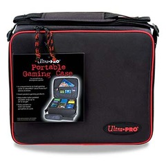 Ultra Pro Portable Gaming Case with Red Trim